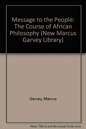 Copertina Message to the People: The Course of African Philosophy