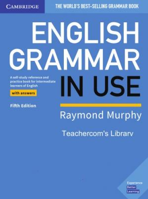 Portada del libro English Grammar in Use Book with Answers and Interactive eBook: A Self-study Reference and Practice Book for Intermediate Learners of English