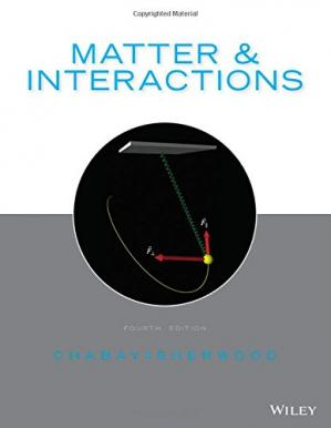 Sampul buku Matter and Interactions