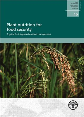 Copertina Plant nutrition for food security. A guide for integrated nutrient management