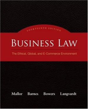 Sampul buku Business Law: The Ethical, Global, and E-Commerce Environment