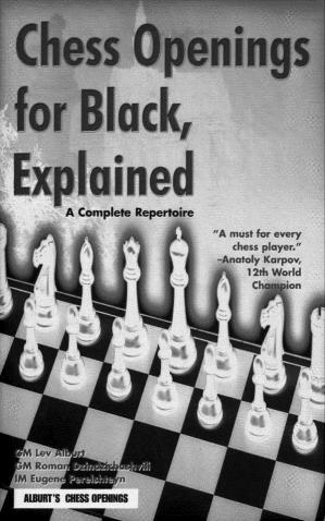 Գրքի կազմ Chess Openings for Black, Explained