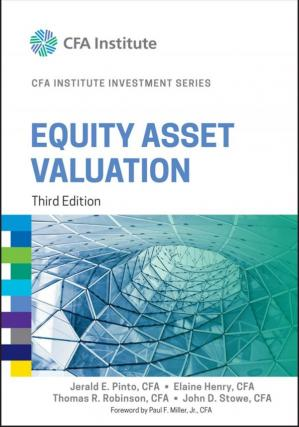 Book cover Equity Asset Valuation