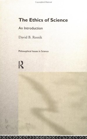 Book cover The Ethics of Science: An Introduction