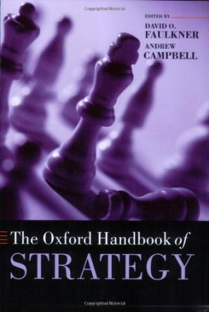 Book cover The Oxford Handbook of Strategy