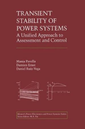 A capa do livro Transient Stability of Power Systems: A Unified Approach to Assessment and Control