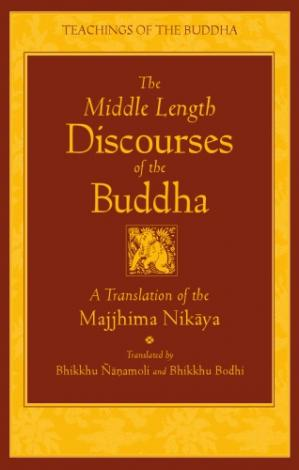 Okładka książki The Middle Length Discourses of the Buddha: A Translation of the Majjhima Nikaya