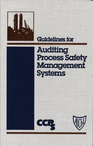 पुस्तक कवर Guidelines for Auditing Process Safety Management Systems