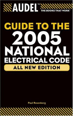 A capa do livro Audel Guide to the 2005 National Electrical Code (R)