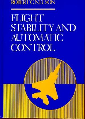 বইয়ের কভার Flight stability and automatic control