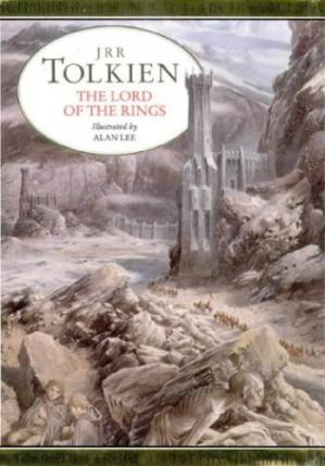 Portada del libro The Lord of the Rings (Illustrated Edition)