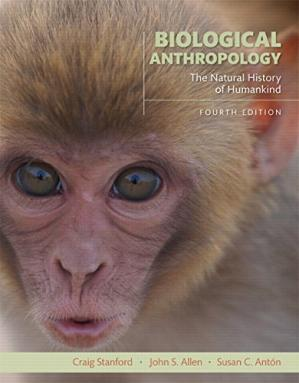 غلاف الكتاب Biological anthropology: the natural history of humankind