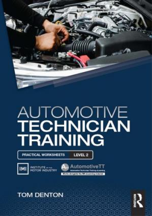 Book cover Automotive technician training : practical worksheets level 2