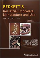 Book cover Beckett's industrial chocolate manufacture and use