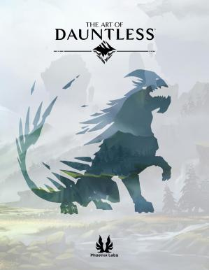 Book cover The Art of Dauntless