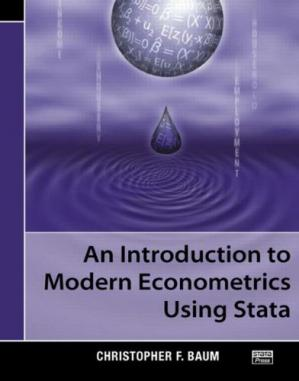 Book cover An Introduction to Modern Econometrics Using Stata