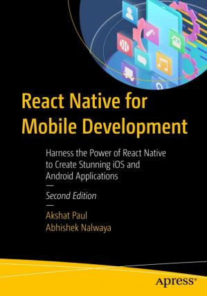 Okładka książki React Native for Mobile Development: Harness the Power of React Native to Create Stunning iOS and Android Applications