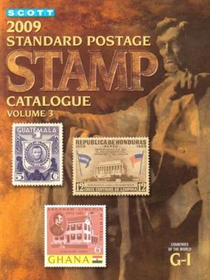 غلاف الكتاب 2009 Scott Standard Postage Stamp Catalogue, Vol. 3: Countries of the World G-I