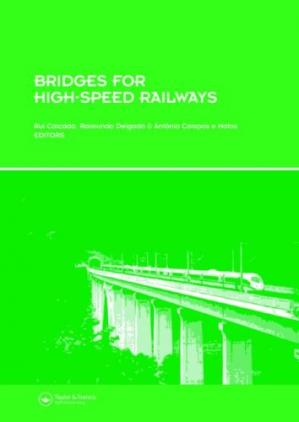 A capa do livro Bridges for High-Speed Railways: Revised Papers from the Workshop, Porto, Portugal, 3 - 4 June 2004