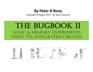 Book cover TheBUGBOOK II Logic Memory Experiments Using TTL Integrated Circuits