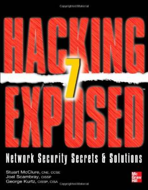 Copertina Hacking Exposed 7: Network Security Secrets & Solutions
