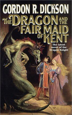 A capa do livro The Dragon & The Fair Maid of Kent
