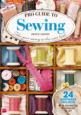La couverture du livre Pro Guide to Sewing