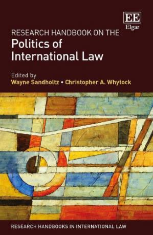 Book cover Research Handbook On The Politics Of International Law