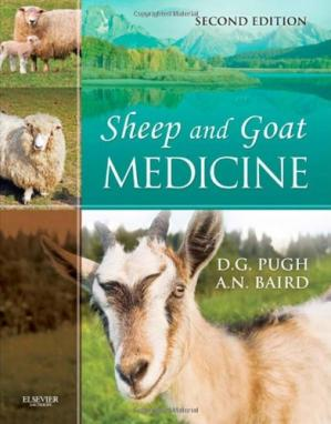 Kitabın üzlüyü Sheep and Goat Medicine