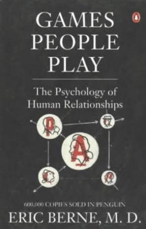 A capa do livro Games People Play: The Psychology of Human Relationships