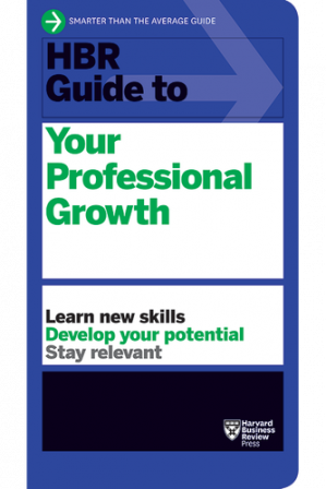 Book cover HBR Guide to Your Professional Growth