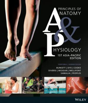 Book cover Principles of Anatomy & Physiology.