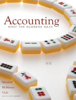 A capa do livro Accounting: What the Numbers Mean