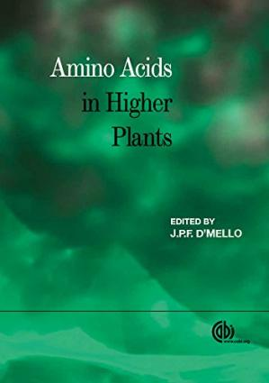 Portada del libro Amino Acids in Higher Plants