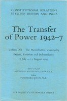 Book cover Transfer of Power in India, 1942–47: The Post-war Phase - New Moves by the Labour Government, Aug.1 1945–Mar.22 1946 v. 6