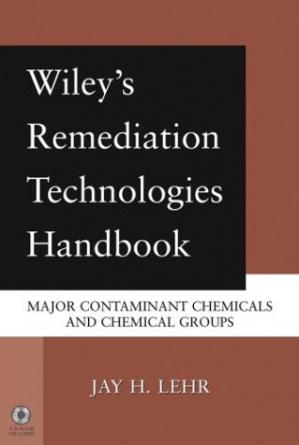 A capa do livro Wiley's Remediation Technologies Handbook. Major Contaminant Chemicals and Chemical Groups