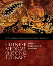 Book cover Chinese medical Qigong therapy. Energetic Alchemy, Dao Yin Therapy and Qi Deviations