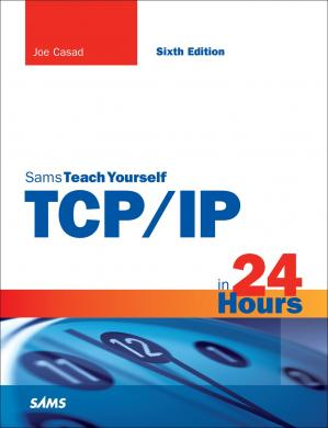 Book cover Sams Teach Yourself TCP/IP in 24 Hours