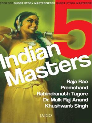 पुस्तक कवर 5 Indian Masters: Short Story Masterpieces