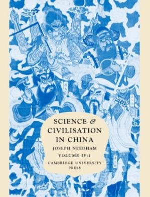 Book cover Science and Civilisation in China: Volume 4, Physics and Physical Technology; Part 1, Physics