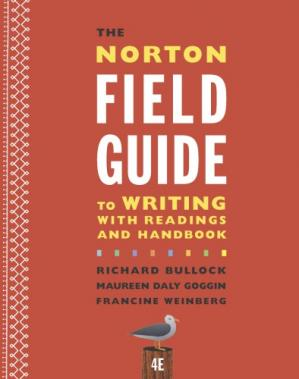 Book cover The Norton Field Guide to Writing with Readings and Handbook