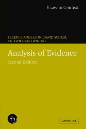 Book cover Analysis of evidence