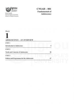 A capa do livro Certificate in Adolescent Health and Counselling (CAHC)