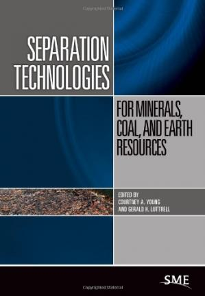 Book cover Separation Technologies for Minerals, Coal, and Earth Resources