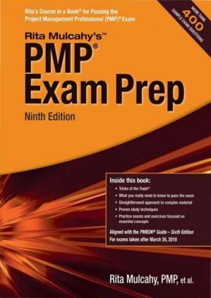 Обложка книги PMP Exam Prep Ninth Edition