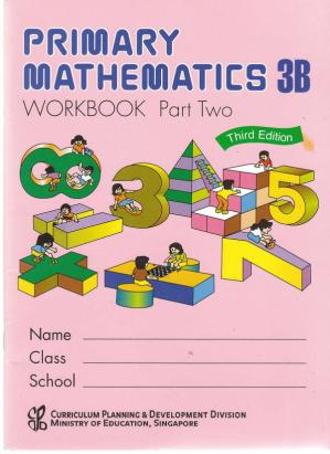 Обложка книги Singapore Math 3B Workbook Part 2