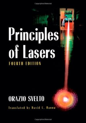 Book cover Principles of Lasers