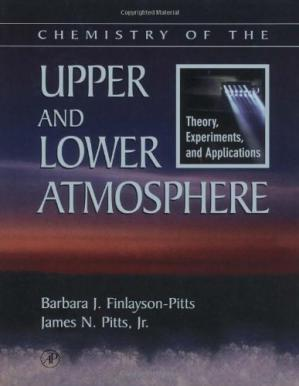 Copertina Chemistry of the Upper and Lower Atmosphere: Theory, Experiments, and Applications