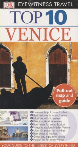 Portada del libro Top 10 Venice (Eyewitness Top 10 Travel Guides)