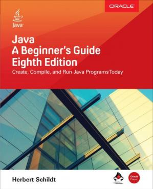 Book cover Java: A Beginner's Guide, Eighth Edition